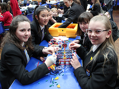 Girls in STEM – Eckington Students' Engineer 'Disaster Day' Solutions