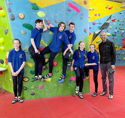 Eckington student wins The Greater Sheffield Schools Bouldering Competition