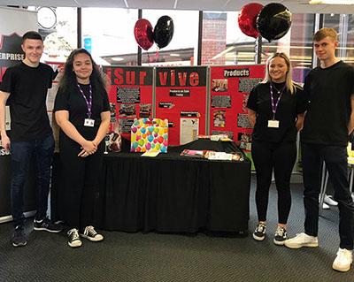Eckington School's Young Enterprise company 'iSurvive' Success at Area Showcase