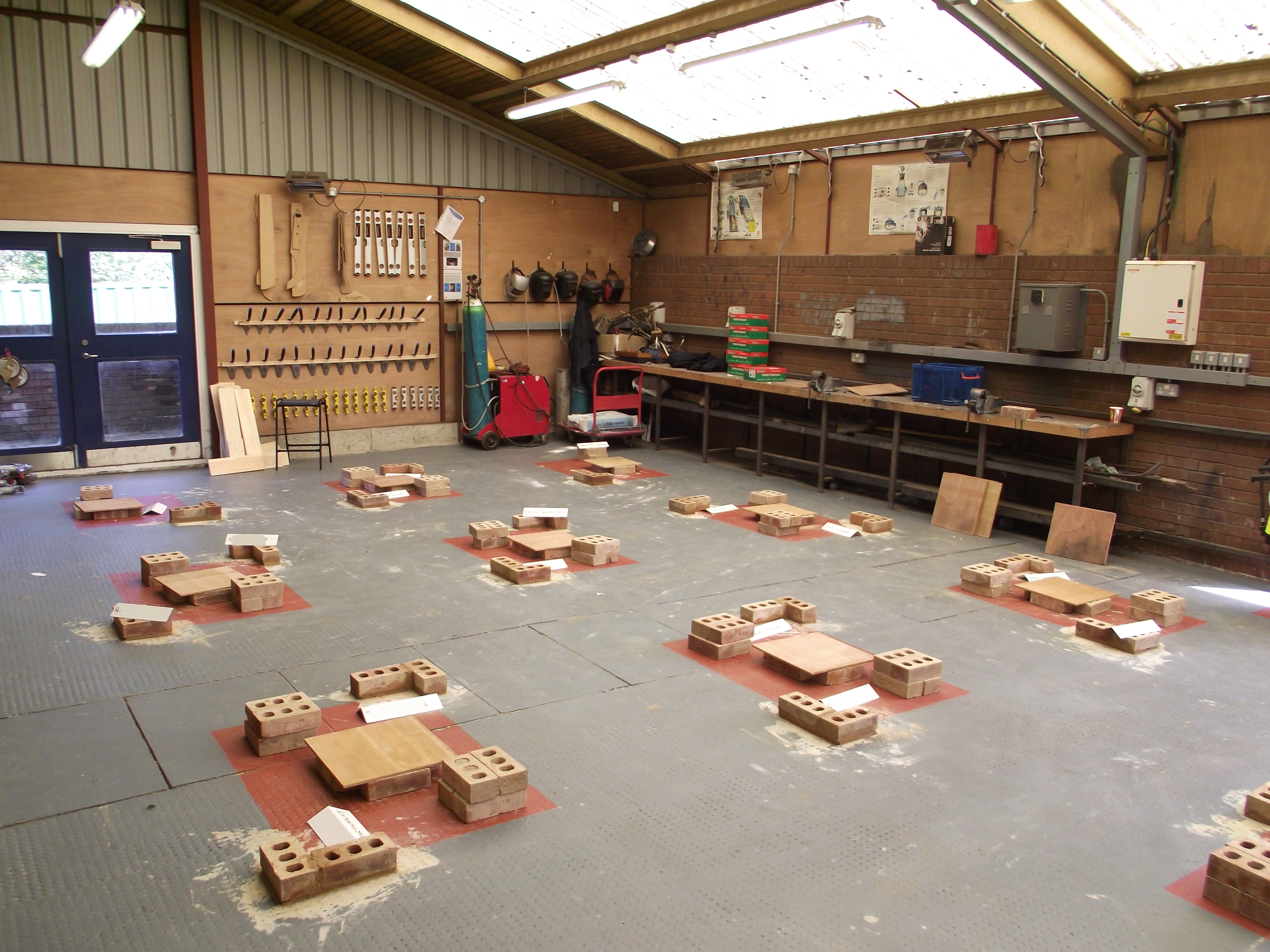 New construction course launched at Eckington School