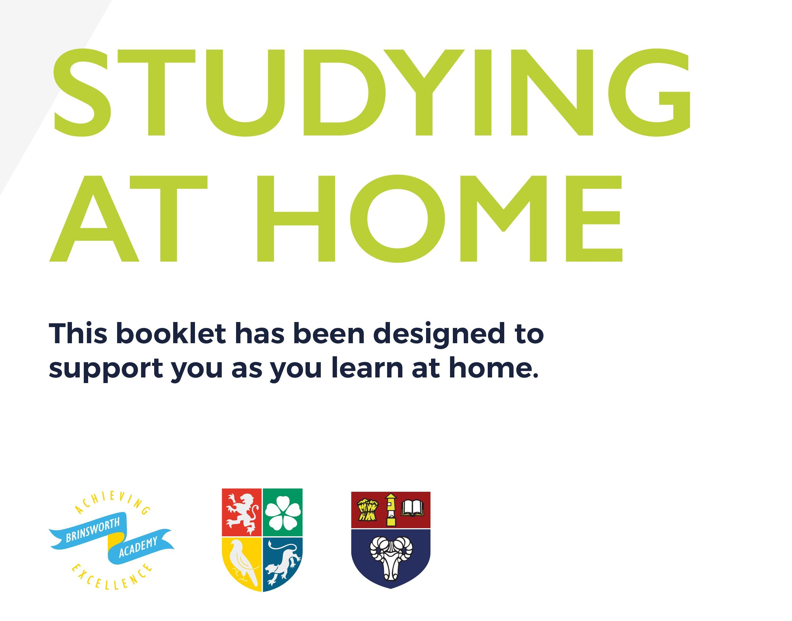 Studying at Home Booklet