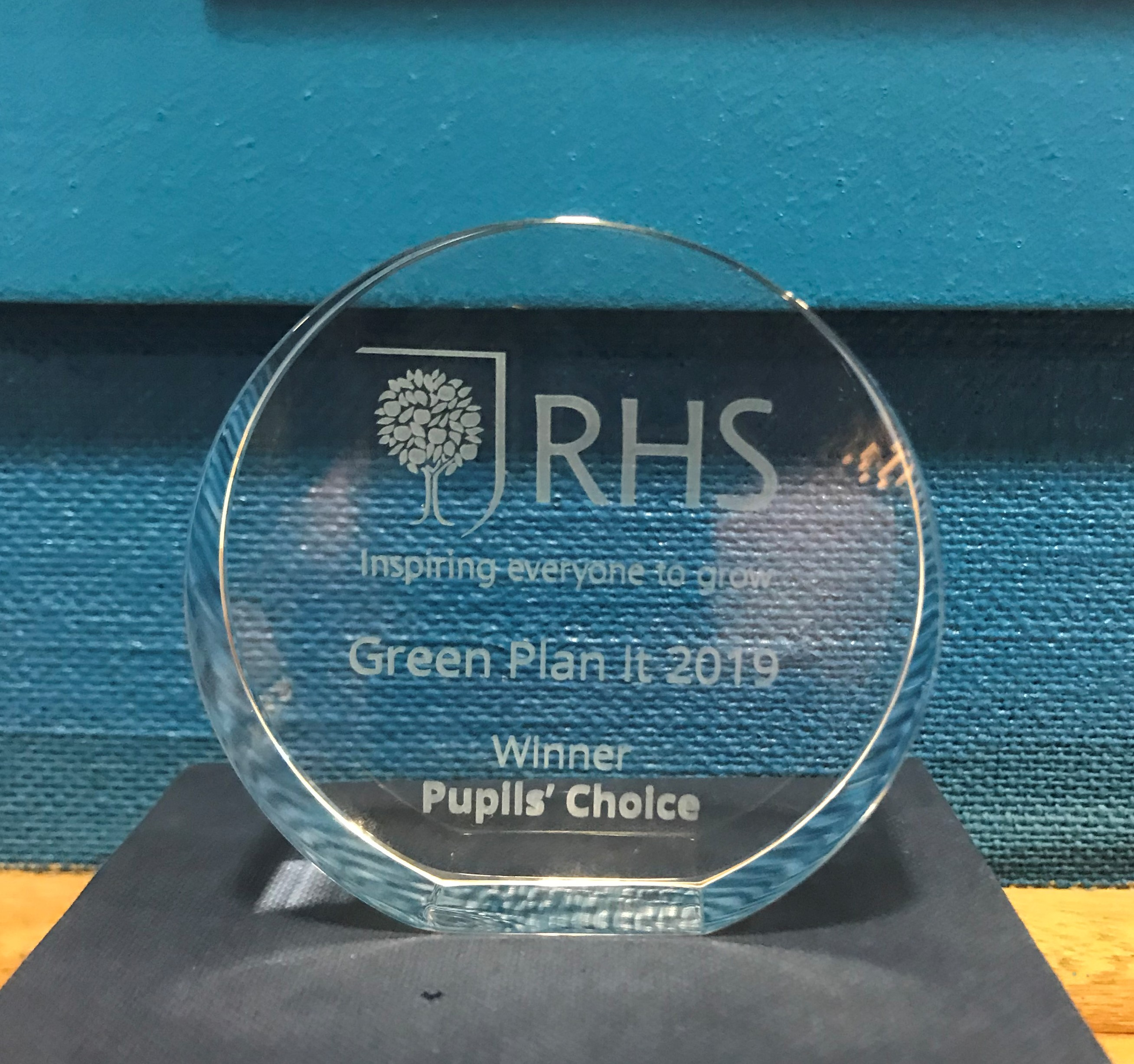 Royal Horticultural Society's competition Green Plan